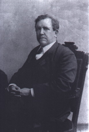 Augustus H. Garland, namesake of the city